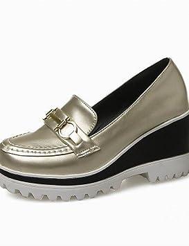 ZQ gyht Zapatos de mujer-Tacón Cuña-Cuñas / Tacones / Plataforma / Punta