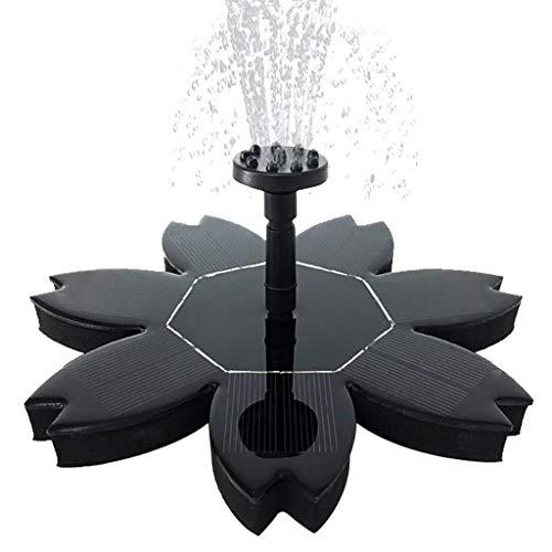Sunnyys Solar Power Pump, Bird Bath Fountain Water Floating Pond Garden Patio Decor (Best Gas Powered Leaf Blower 2019)