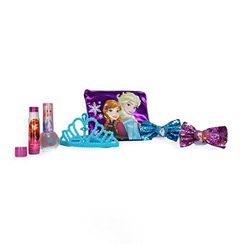Disney Frozen Beauty Cosmetic Set for Girls Stickers and Dog Tags for Girls