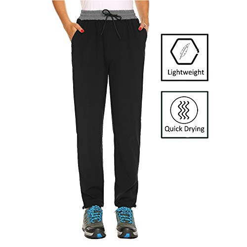 IN'VOLAND Women's Hiking Cargo Pants Outdoor Quick Drying Convertible Pants