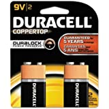 "Brand New Duracell - 3 Pack - Coppertop Alkaline Batteries With Duralock Power Preserve Technology 9V 2/Pk ""Product Category: Breakroom And Janitorial/Batteries & Electrical Supplies"""