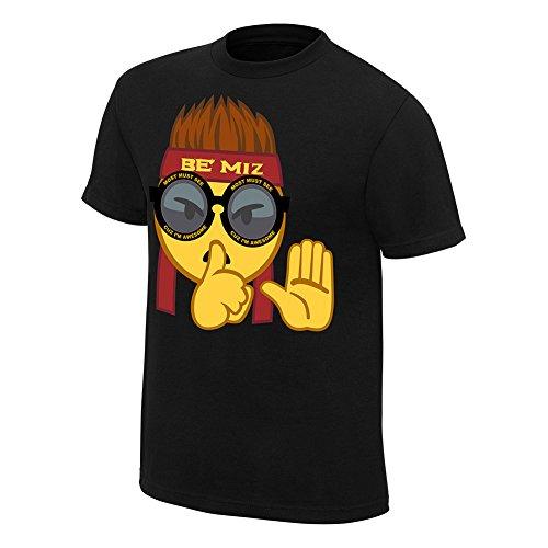 WWE Authentic Wear The Miz Most Must See T-Shirt Black Large (Miz Tshirt The)