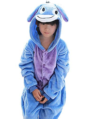 Tonwhar Costumes for Children Kids Cuddly Onesie Pajamas (115(Height:49.2