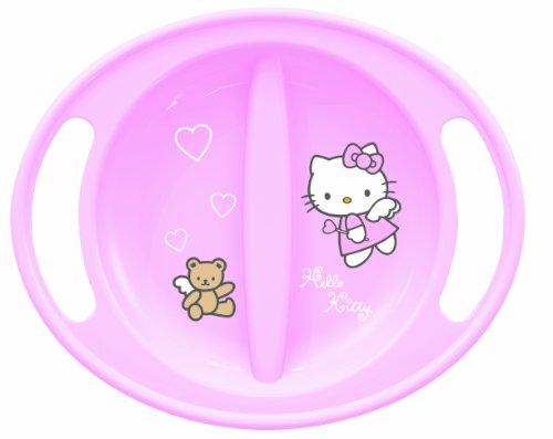 Trudeau Hello Kitty Feeding Plate (Pink)