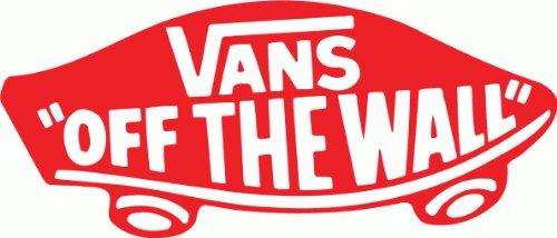 """Vans Off The Wall Snowboard Bumper Sticker 12"""""""