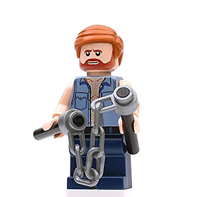 Custom Design Minifigure - Karate Commando Chuck Norris - Collectable Toy Figurine for Kids, Men and Women | Movies: Toys & Games