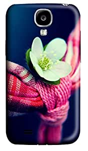 Samsung S4 Case Flowers And Towel 3D Custom Samsung S4 Case Cover