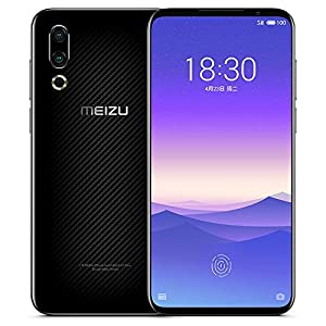 Original Meizu 16s 6GB 128GB Snapdragon 855 Octa Core 6.2″ FHD 2232x1080p 3600mAh 48mp 20mp Dual Rear Camera Cell Phone by-(Real Star Technology) (Black)