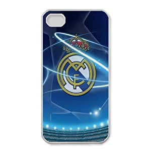 iphone4 4s case(TPU), Real Madrid Champions League Cell phone case White for iphone4 4s - HHKL3340984