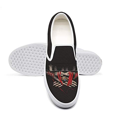 yukkl Casual Mens Sneakers Shoes Awesome Canvas Shoes Non-Slip Slip-on for Men ()