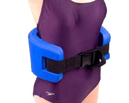 Exervo aquacomfort water exercise training foam buoyancy float swim belt large buy online in for Flotation belt swimming pool exercise equipment