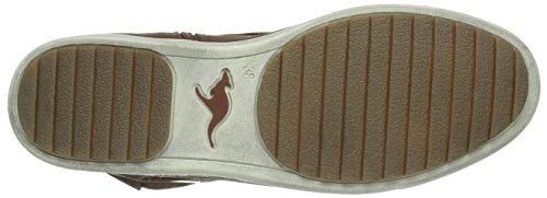 Marron boot 300 Kangaroos brown Bottes Femme K 5008 XvqwPg