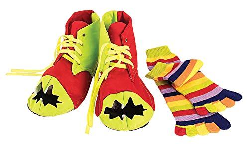 Ac5458 Et Clown De Set Chaussettes Chaussures Forum Novelties CWqF55