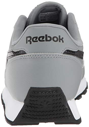 Usa Reebok Grey Renaissance Turnschuhe Black flint Breit Classic Leder White wfvqHfXr