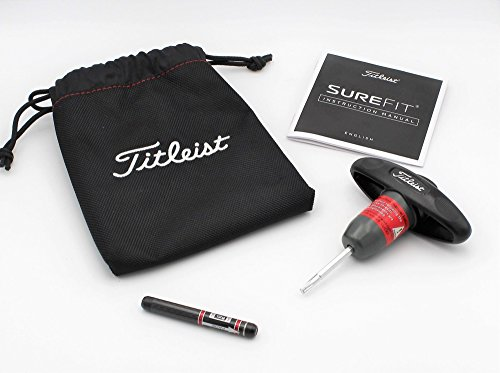Titleist 917 SureFit CG Adjustment Tool w/ Pouch, Manual, & 12g SureFit Weight by Titleist