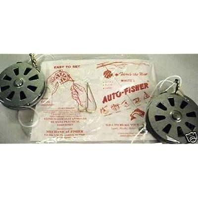 White's Auto Fisher 2 Yo Yo Automatic Fishing Reels - Package 2 Yoyos - Yo Yo Fish Trap: Sports & Outdoors