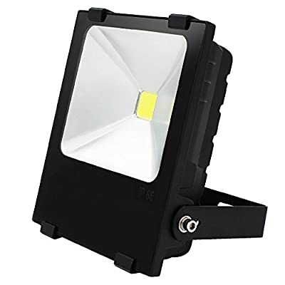 10W Outdoor LED Flood Light - AC85-265V Waterproof Daylight COB LED Floodlight Security Light for Landscape, Building, Sports, Advertising Board, Work, Accent, General Area Lighting