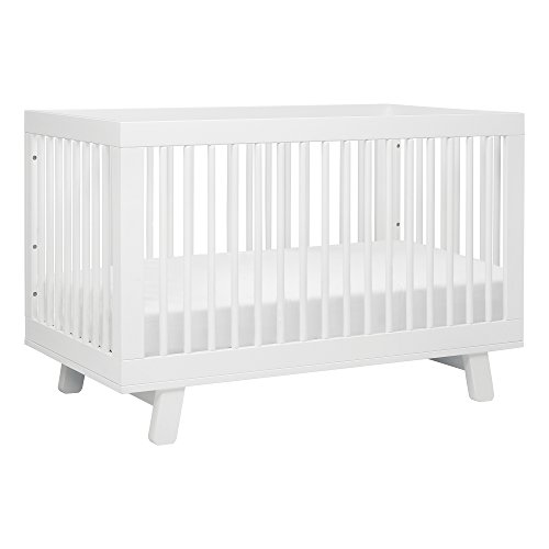 - Babyletto Hudson 3-in-1 Convertible Crib with Toddler Bed Conversion Kit, White