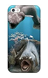 AnnaSanders Case Cover For Iphone 5/5s - Retailer Packaging Sea Creatures Water Acvatic Ocean Animal Fish Protective Case