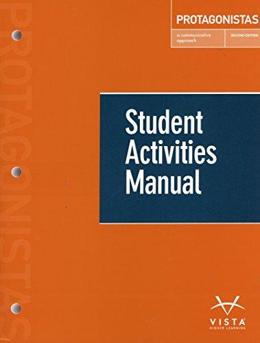 Protagonistas 2nd Student Activities Manual