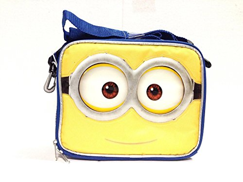 2015 New Despicable Me Minions 3D Eyes Lunch Bag-2502