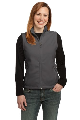 Port Authority Women's Value Fleece Vest XL Iron Grey