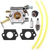 AISEN Carburetor Fuel LINE KIT for HOMELITE 20 23 W/CC Ranger 33CC 16' D3300 D3300C N3014 N3316 PS33 Z3300 Z3800 B2216CC Chain Saw UT-10782-A UT-10786-A UT-10926 RY74003D 000998271