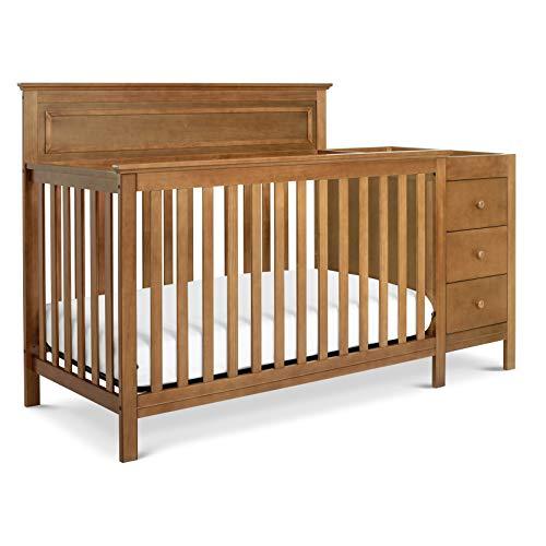 DaVinci Autumn 4-in-1 Crib and Changer Combo, Chestnut