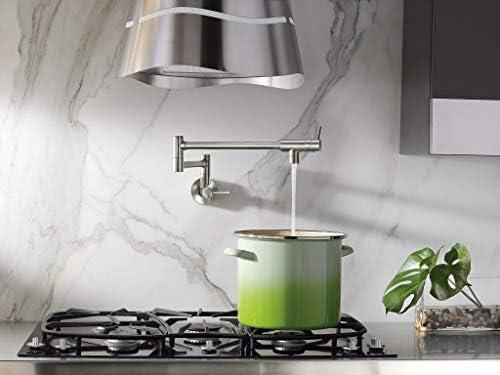 KOHLER K-690-CP Vinnata Kitchen Sink Faucet, Polished Chrome