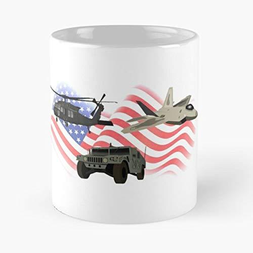 (F22 Jet Fighter Gift Coffee/tea Ceramic Mug 11 Oz)
