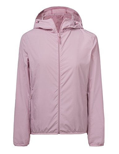 CHERRY CHICK Women's Lightweight Packable Hooded Jacket (US Small/Chinese L, - Jacket Cherry Womens