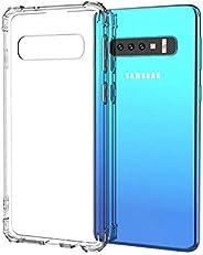 """Capa Anti Shock Samsung Galaxy S10 Plus 6.4"""",Fse Acessórios, Capa Anti-Impacto, Transpa"""