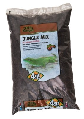 Reptile & Exotics Supplies Rzilla Jungle Mix by Central Garden & Pet - Aquatic