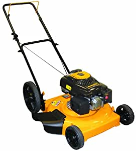 Poulan Pro PR550N22SH 22-Inch 140cc Briggs and Stratton 500 Series Gas Powered Mulch/Side Discharge Push Lawn Mower With High Rear Wheels