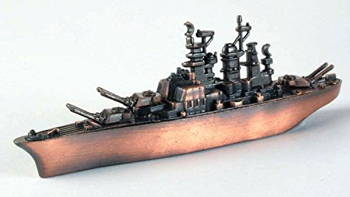 Battleship Die Cast Metal Collectible Pencil Sharpener