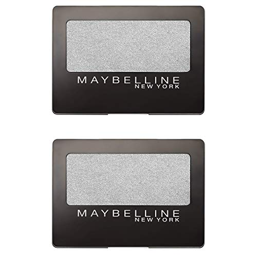 ((2 Pack) Maybelline Expert Wear Eyeshadow, NY Silver, 0.08)