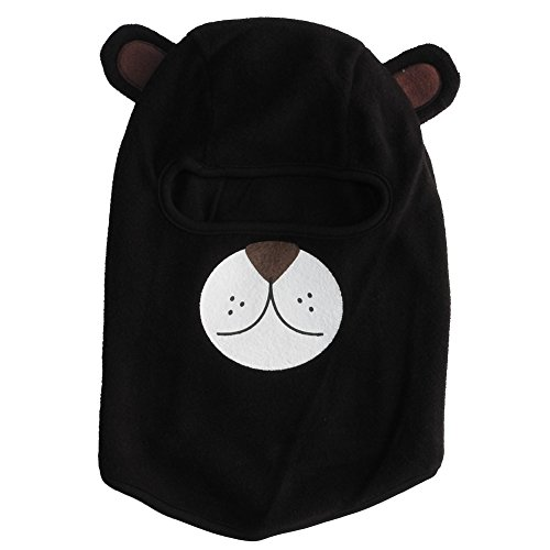 Mashed Clothing Toddler & Kids Fleece Ski Mask in Animal Faces (Ages 2-5) (Bear)