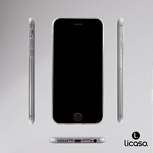iPhone 6 Caso 6S por licaso® para el patrón de Apple iPhone 6 6S Snoopy con Gafas Sol TPU de silicona ultra-delgada proteger su iPhone 6S es elegante y cubierta regalo de coches Batman