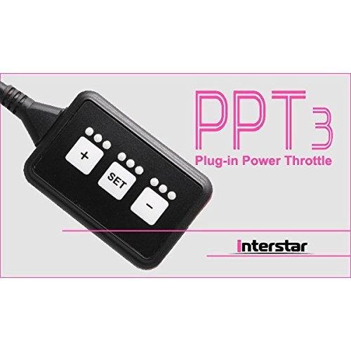 インタースター PPT3(Plug-in Power Throttle 3) VW Golf 7/ゴルフ7 AU 2013~ ※コネクター形状確認[品番:3.10.06.01] B073FBYFZQ