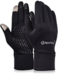 Vbiger Winter Gloves Touch Screen Gloves Outdoor Cycling...