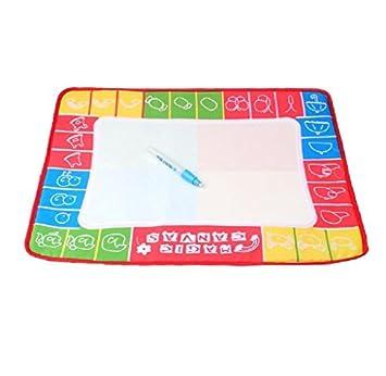 Water Drawing Toy Writing Mat Board Magic Pen