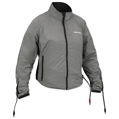 Heated Liner Safe Jacket - Firstgear 90-Watt Warm and Safe Women's Grey Heated Jacket Liner, L