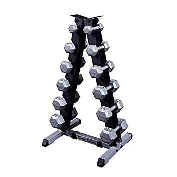 Hex Dumbbell and Rack Package