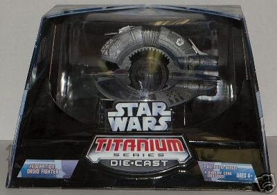Titanium Micro Machines (Star Wars Trade Federation Droid Fighter: Micro Machines 2005 Titanium Series)