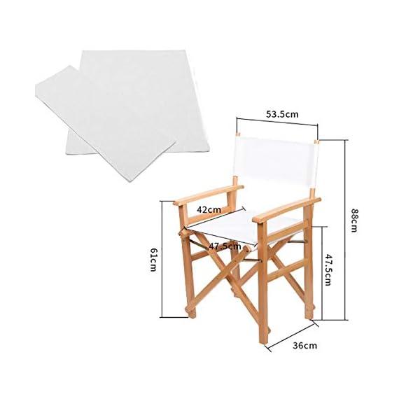 Sostituzione pieghevole Copertura sedia da campeggio Patio copertura della sedia da giardino Amministrazione esterna… 2 spesavip
