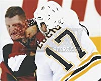 Milan Lucic Boston Bruins bloody punch fight 8x10 11x14 16x20 photo 860 - Size 8x10