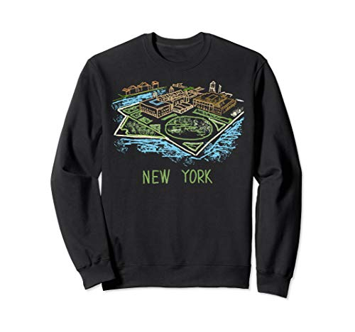 Ellis Island New York Sweatshirt (The Ellis Island Of Black America Was In)