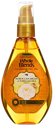 Garnier Whole Blends Illuminating Oil Moroccan Argan and Cam