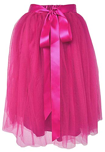 (Dancina Girls Knee Length Tutu A line Layered Tulle Skirt 2-7 Years Hot)