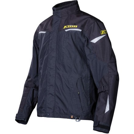 Mens Gore Tex Motorcycle Jacket - Klim Overland Men's MX Motorcycle Jackets - Black / 2X-Large